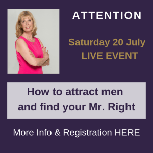 One day live event with Dating Expert Trea Tijmens